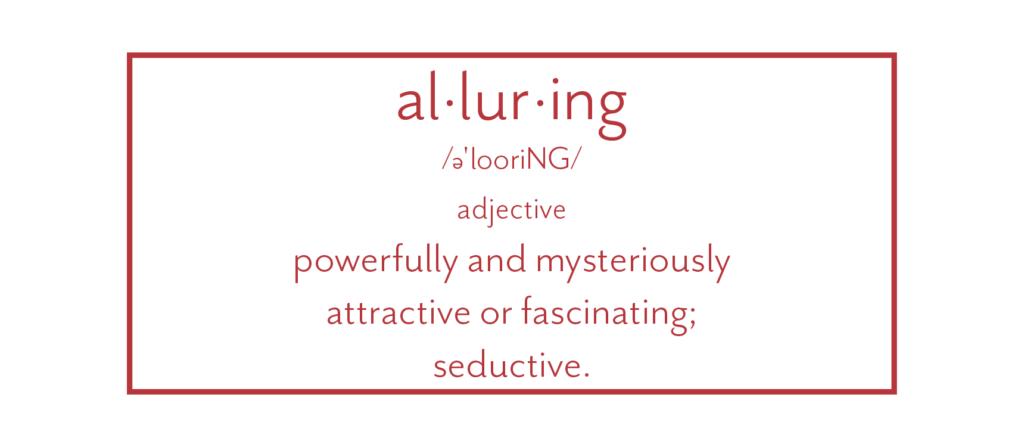 alluring defined