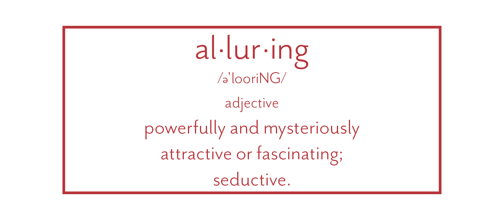 alluring defined